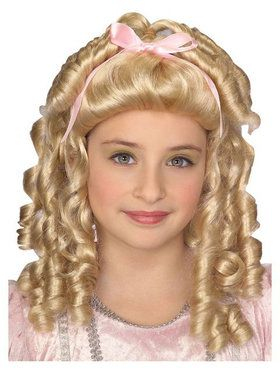 Storybook Blonde Wig Child