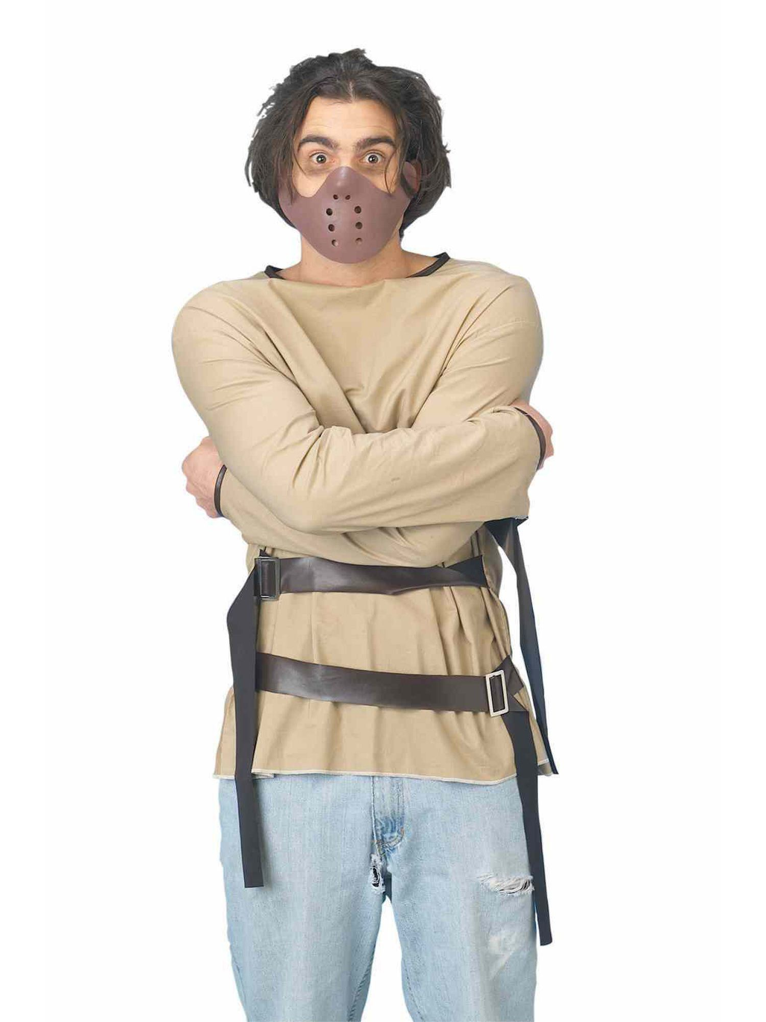 Straight Jacket Adult Costume - Funny Mens Costumes