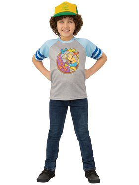 Stranger Things 3 Dustin's Arcade Cats T-shirt for Kids