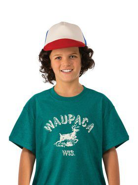 Kid's Stranger Things Dustin Waupaca Shirt
