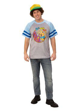 Stranger Things Dustin's Arcade T-shirt Costume for Adults