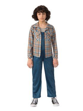 Kid's Stranger Things Eleven's Plaid Shirt