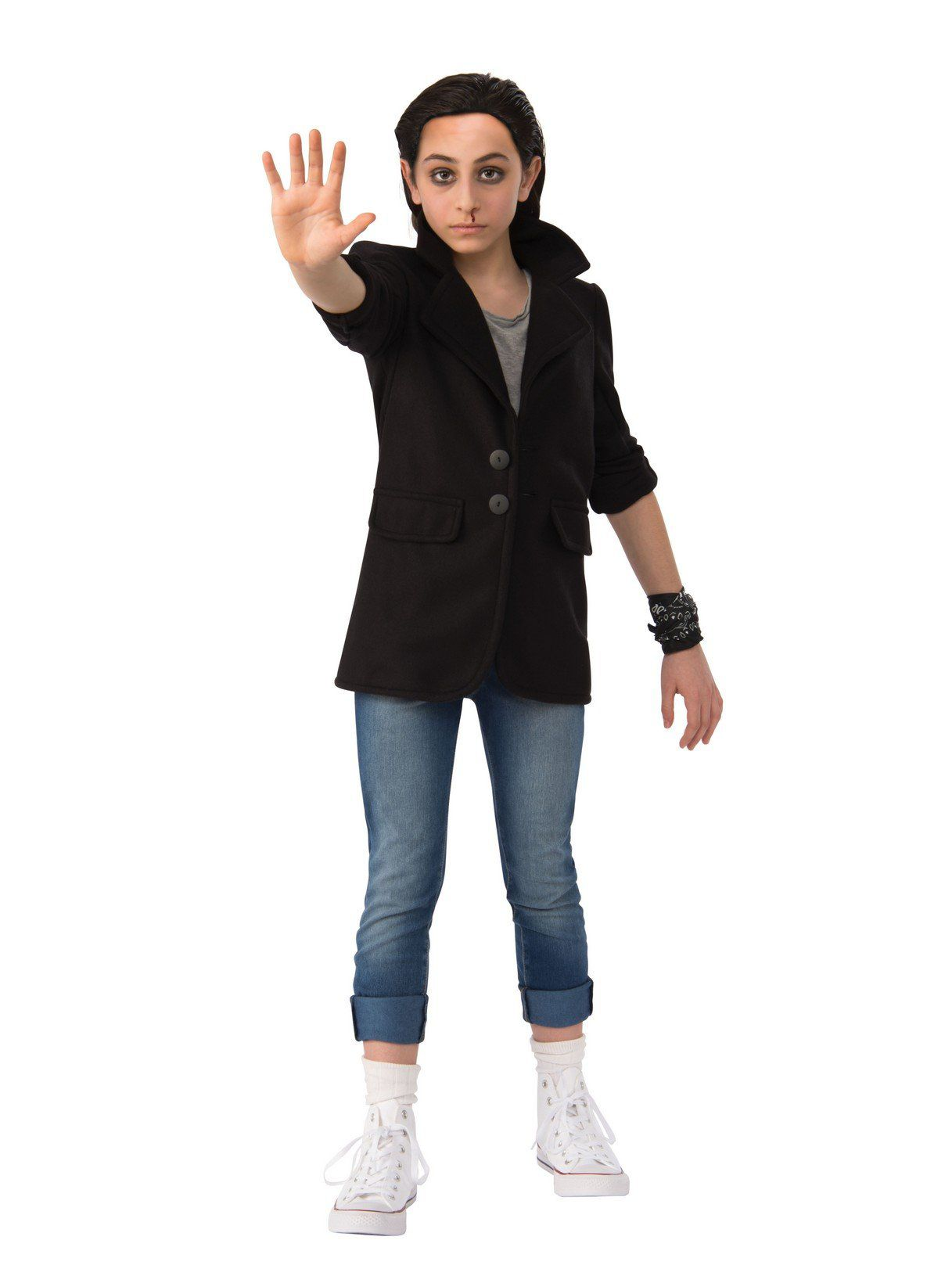 stranger things punk eleven outfit for girls