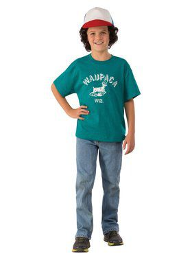 Stranger Things Dustin's Waupaca T-shirt Kit for Kids
