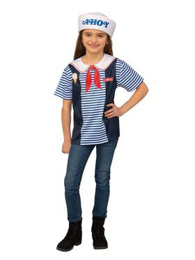 Stranger Things Robin's Scoops Ahoy Uniform Costume for Adults