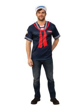 Stranger Things Steve's Scoops Ahoy Uniform for Adults