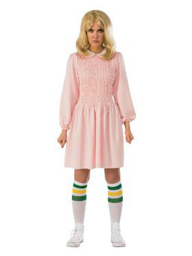 Adult Stranger Things Eleven Dress Costume