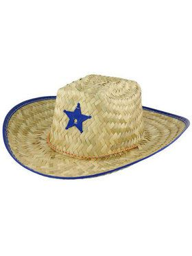 Straw Cowboy Hat for Child