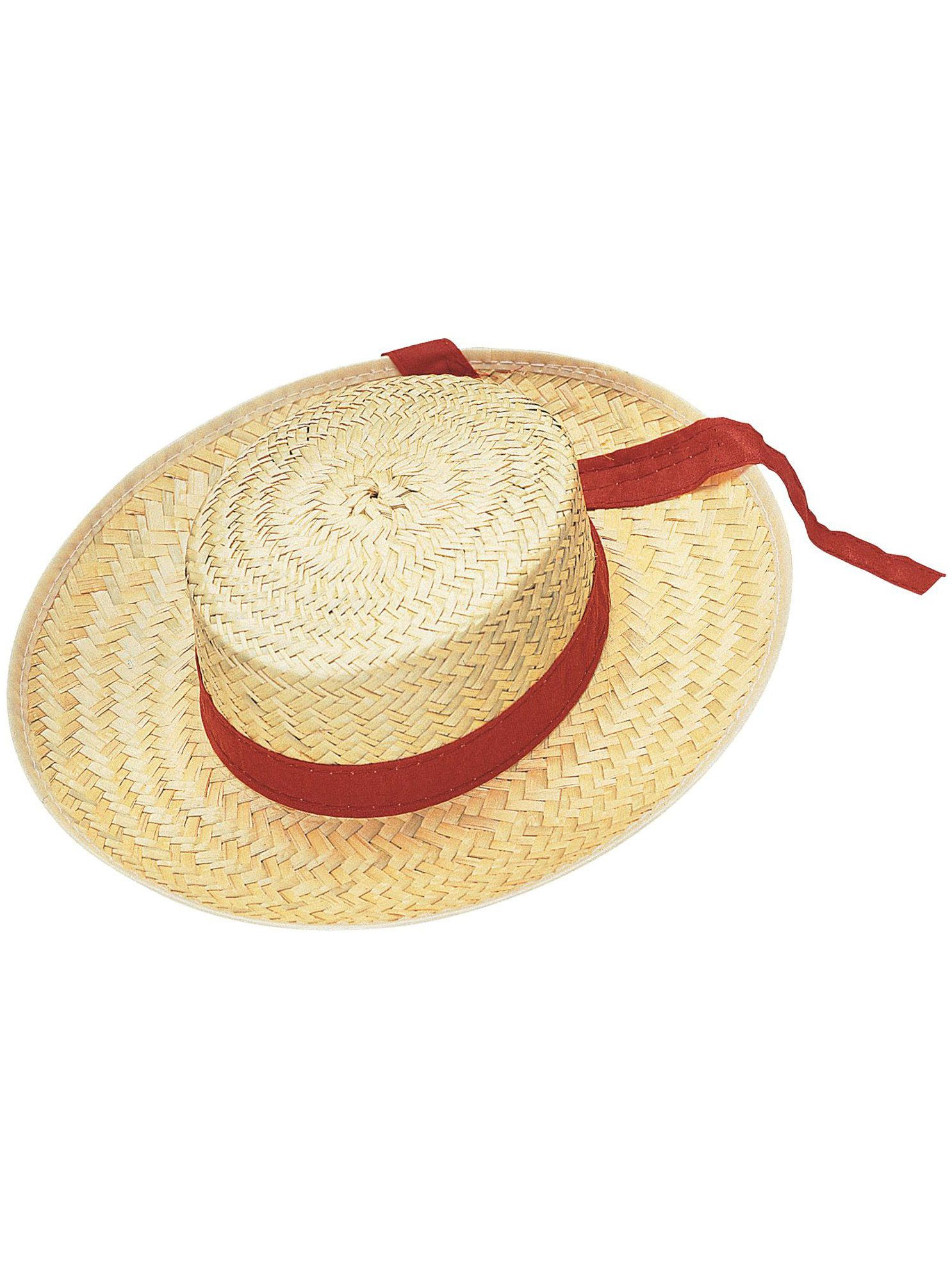 002ad3257e6 Straw Gondolier Hat Adult - Costume Accessories for 2018