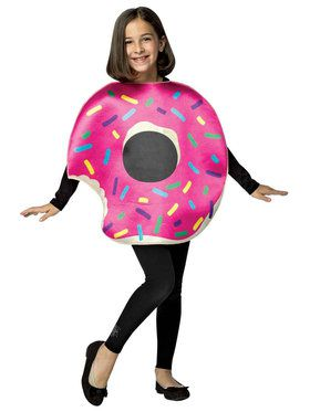 Strawberry Donut Costume For Children