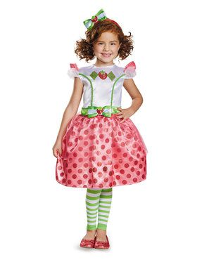 Strawberry Shortcake Classic Costume Toddler