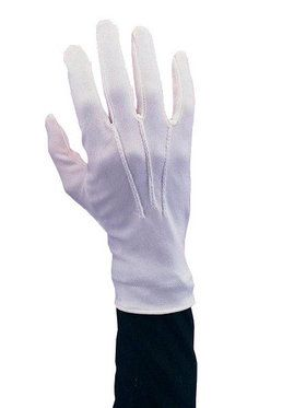 Stretch Nylon Adult Santa Gloves with Sn