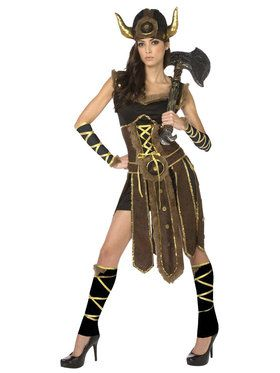Striking Viking Costume For Adults