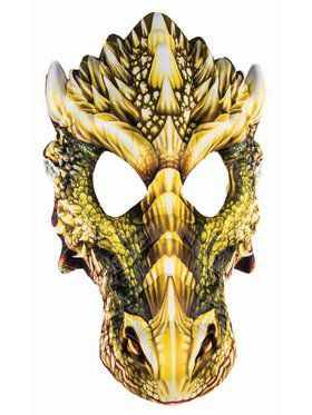 Sublimation Dragon Mask Accessory