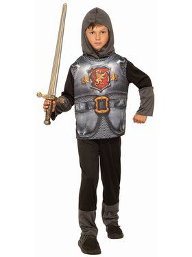 Sublimation Knight of Dark Kingdom Child Costume