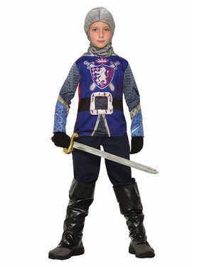 Sublimation Knight Shirt Boys Costume
