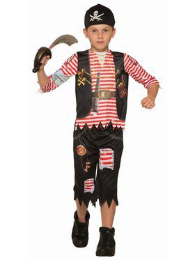 Sublimation - Pirate Lad Child Costume