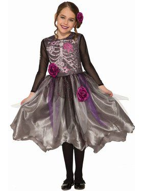 Sublimation - Sweet Skeleton Child Costume