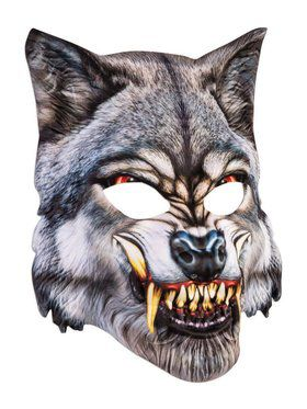Sublimation Wolf Mask Accessory