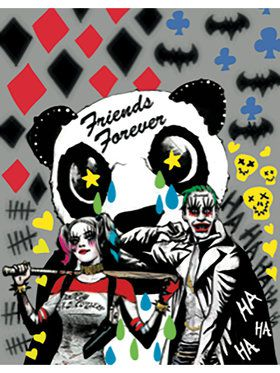 Friends Forever Suicide Squad Sign