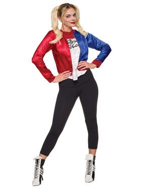 Suicide Squad Harley Quinn Costume Top