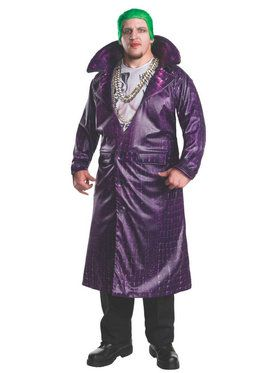 Suicide Squad: Joker Deluxe Adult Plus Costume