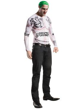Suicide Squad Joker Kit Men's Costume