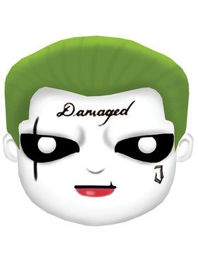Adult Suicide Squad Joker Mask
