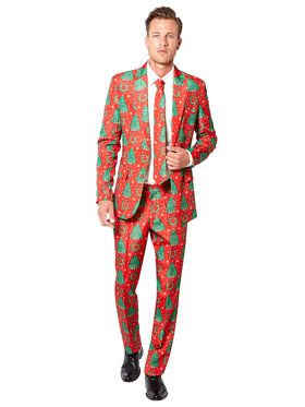 Men's Suitmeister Christmas Tree Suit and Tie