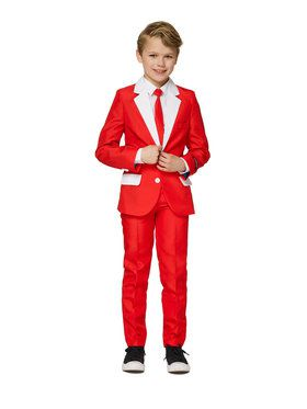 Boy's Santa Suit Suitmeister Set