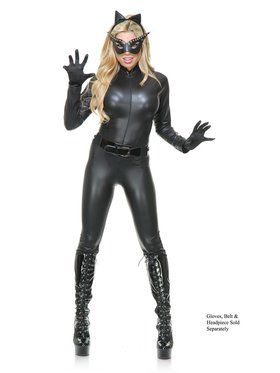 Women's Sultry Cat Suit Costume