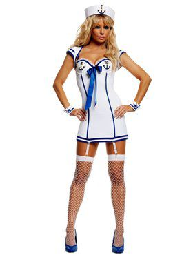 Sultry Sailor Sexy Costume