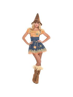 Women's Sultry Scarecrow Costume