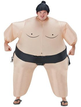 Sumo Wrestler Inflatable Adult Costume
