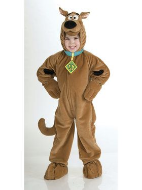 Super Deluxe Scooby Doo Costume for Children