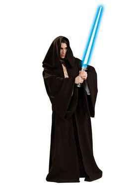 Super Dlx Jedi Robe Costume