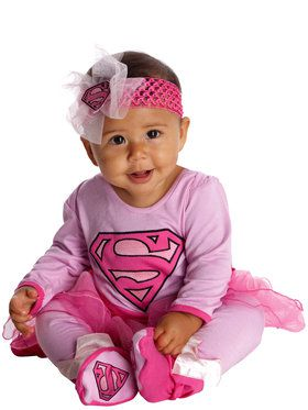 Super Girl Infant Jumper Costume Toddler