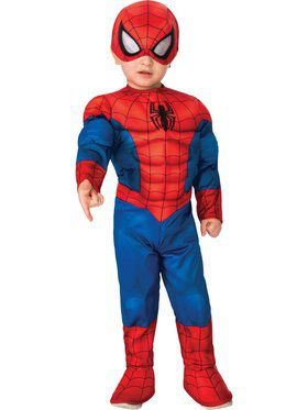 Superhero Adventures Deluxe Spider-Man Costume for Toddlers