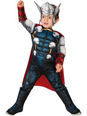 Superhero Adventures Deluxe Thor Costume for Toddlers