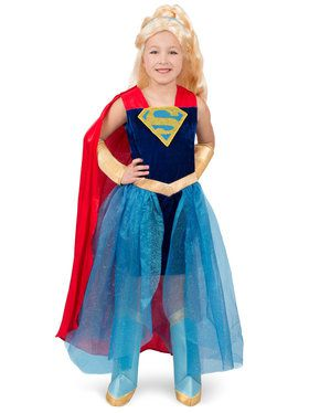 Super Hero Girls Premium Child Supergirl Formalwear