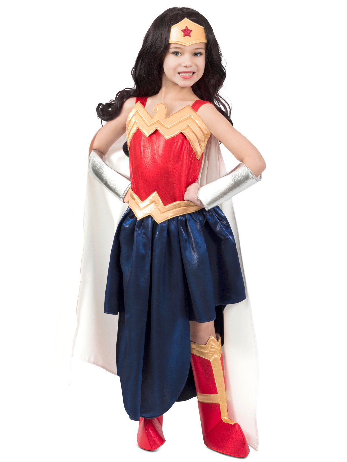 Super Hero Girls Premium Child Wonder Woman Formalwear Girls