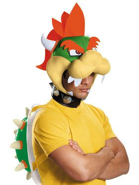 Super Mario Bros: Bowser Costume Kit For Adults
