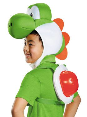 Super Mario Bros: Yoshi Accessory Kit For Children