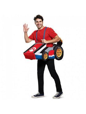 Super Mario Bros. Mario Kart Costume for Adults