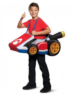 Super Mario Bros. Mario Kart Costume for Children
