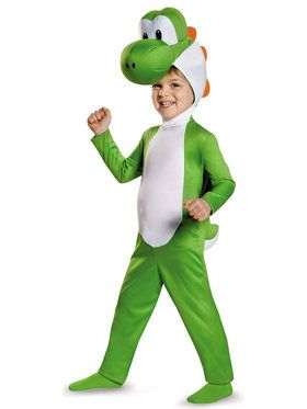 Toddler Yoshi Super Mario Bros Costume