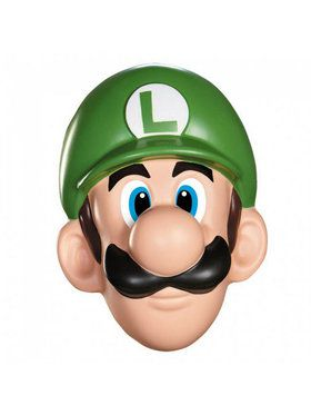 Super Mario Bros - Luigi Adult Mask