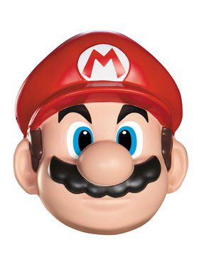 Super Mario Bros - Mario Adult Mask