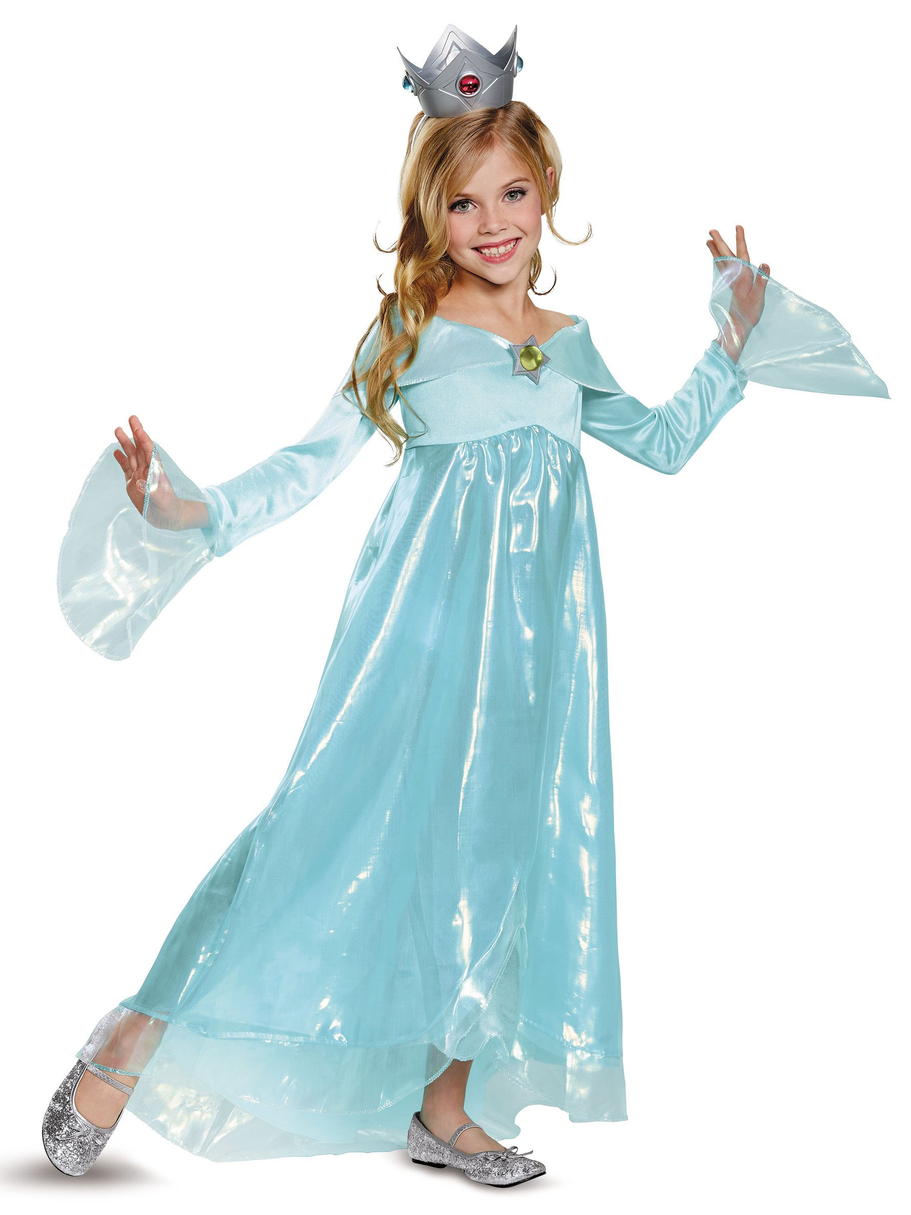 Super Mario Rosalina Deluxe Costume For Children  sc 1 st  Wholesale Halloween Costumes : kids super mario costume  - Germanpascual.Com