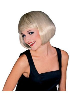 Super Model Blonde Wig Adult